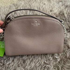 Kate spade crossbody, light walnut color.